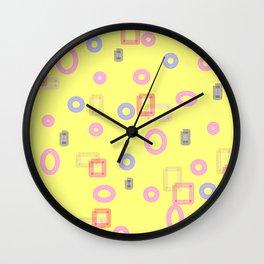 pattern Y1 Wall Clock