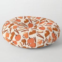 Pumpkin Fanatic Floor Pillow