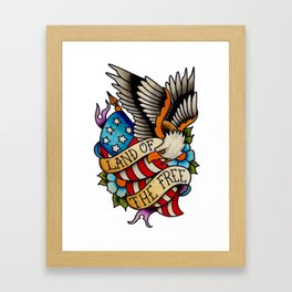 Land of the Free Framed Art Print