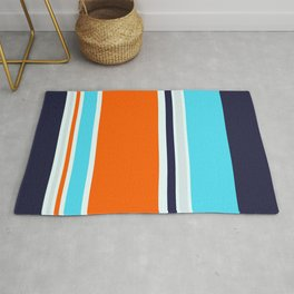 Teal Strong Rug