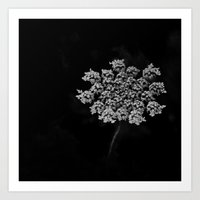 lace Art Prints featuring Lace by SilverSatellite