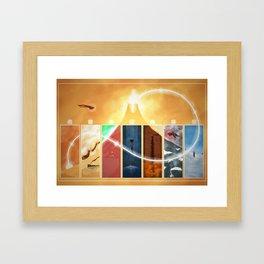 Pilgrim's Path Framed Art Print