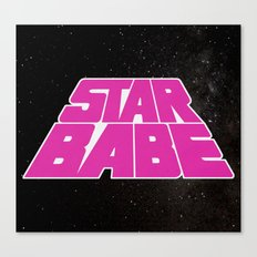 Star Babe Canvas Print