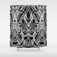fleur de lis Shower Curtains featuring Fleur De Lis by ArtLovePassion