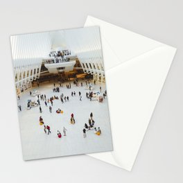People in Oculus,  New York Stationery Cards