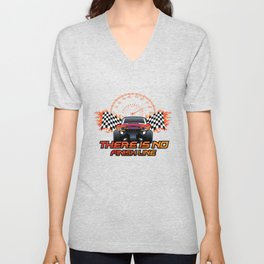 There is no finish line Unisex V-Neck