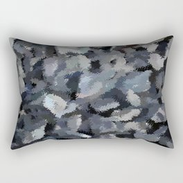 Shades of Gray Tapestry Rectangular Pillow