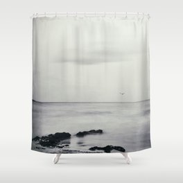 Silk Horizons Shower Curtain