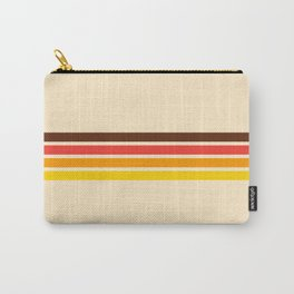 African Retro Stripes Carry-All Pouch