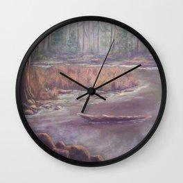Mist on the Manistee AC151003b-12 Wall Clock