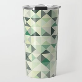 colorful Triangles 2 Travel Mug