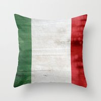 italy Throw Pillows featuring Italy by Arken25
