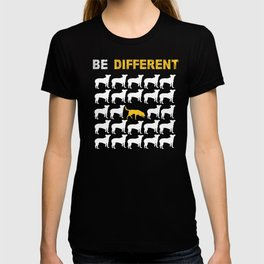 Labrador Dog Owners Gift Be Different T-shirt