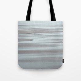 Blue and Beige Beach No. 2 Tote Bag