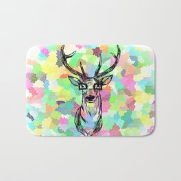 Deer are people too Bath Mat
