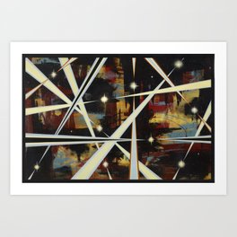 Omega Times pt. 1 Art Print