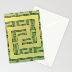 Lines and Layers Stationery Cards