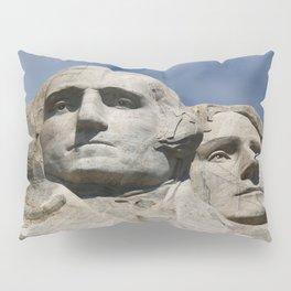 George Washington And Thomas Jefferson  - Mount Rushmore Pillow Sham