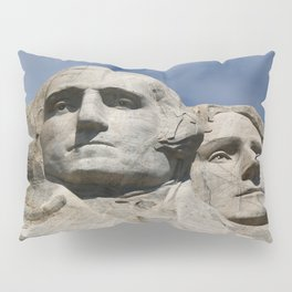 George Washington And Thomas Jefferson  - Mount Rushmore Pillow Sham