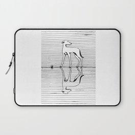 Hound on the ice Laptop Sleeve