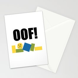 Roblox Oof Stationery Cards