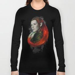 Head of Elven Long Sleeve T-shirt