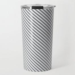Sharkskin Stripe Travel Mug