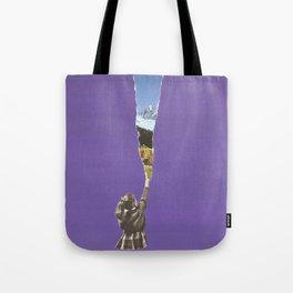 Landscape glimpse Tote Bag