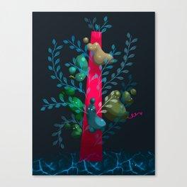 Birdy Tree Canvas Print