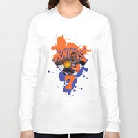 nba Long Sleeve T-shirts featuring NBA Stars: Carmelo Anthony by Akyanyme