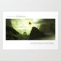 EL DORADO pt.4 Art Print