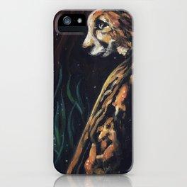 Jaguar Watching // Wild Animal Jungle Cat Leopard Tiger Forest Power Spirit Energy iPhone Case
