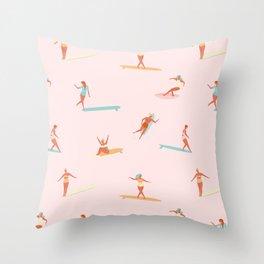 Sea babes Throw Pillow