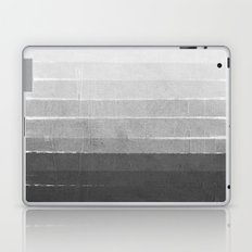 Brushstroke - Ombre Grey, Charcoal, minimal, Monochrome, black and white, trendy,  painterly art  Laptop & iPad Skin