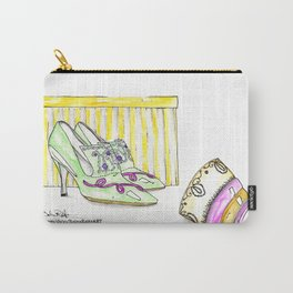 Marie Antoinette Manolos Carry-All Pouch