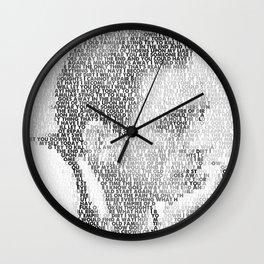 Hurt Wall Clock