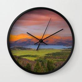 Spring Glow Wall Clock