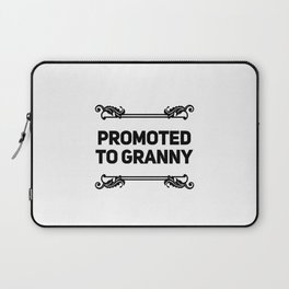 Promoted To Granny Laptop Sleeve