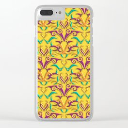 Tribal Pattern 1 Clear iPhone Case
