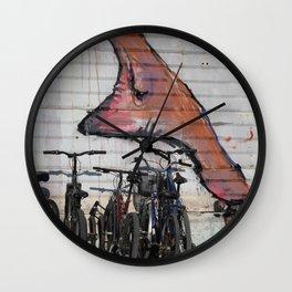 foot print Wall Clock