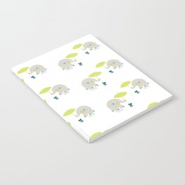 Rain Pattern Notebook
