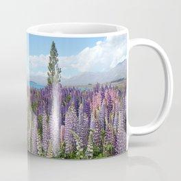 Lupine Field Coffee Mug