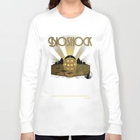 bioshock infinite Long Sleeve T-shirts featuring Bioshock rapture illustration by sgrunfo