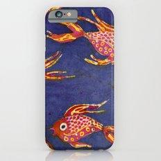 Goldfish batik iPhone 6s Slim Case