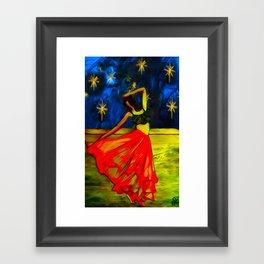 Dancing in the Street 2 Framed Art Print