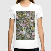 succulents T-shirts featuring Succulents by Tiffany Tremaine (birdy)