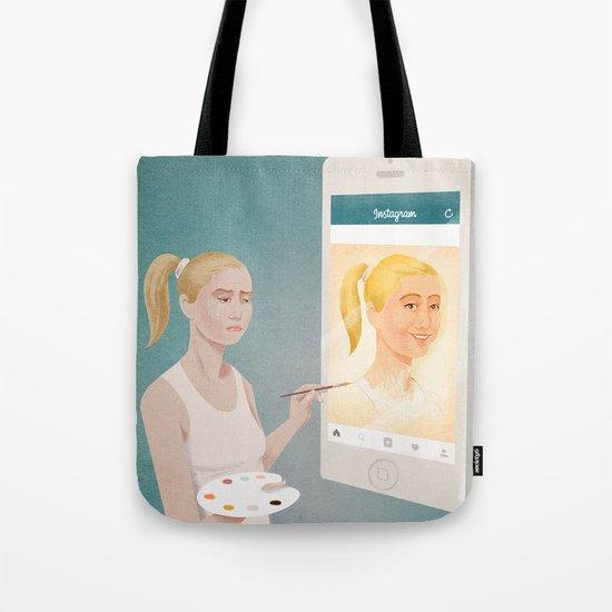 social Tote Bag