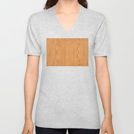 Wood Grain 4 Unisex V-Neck