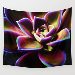 RAINBOW SUCCULENT Wall Tapestry