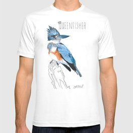 Queenfisher (Belted Kingfisher) T-shirt
